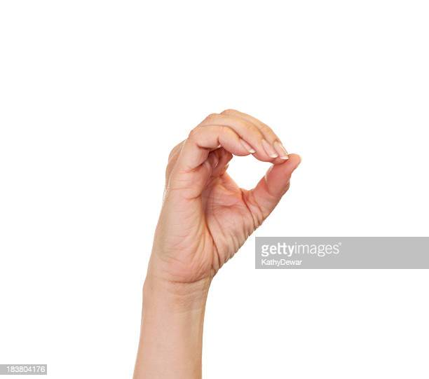 Letter O in American Sign Language