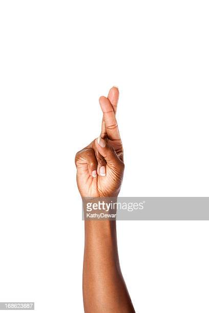 Letter R in American Sign Language