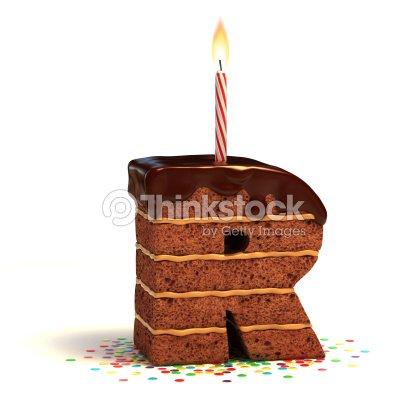 letter r shaped chocolate cake stock photo thinkstock