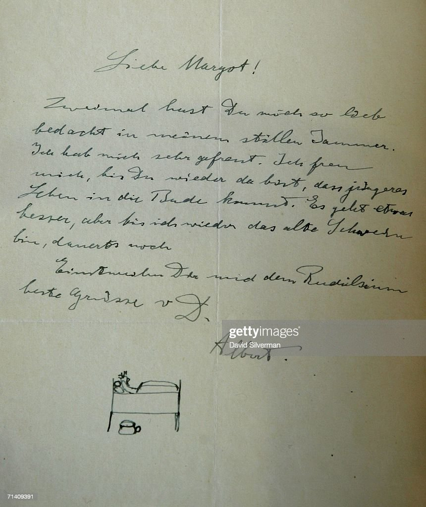 Albert Einsteins 1948 Letter To The: Albert Einstein Personal Letters ...