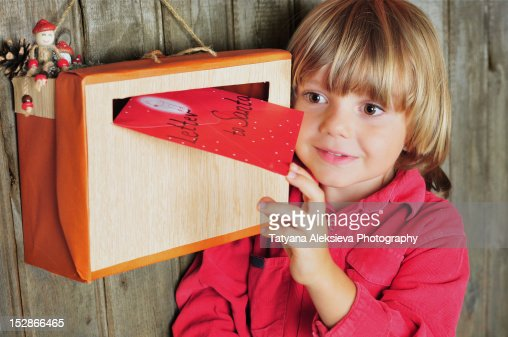 Letter to Santa : Stock Photo