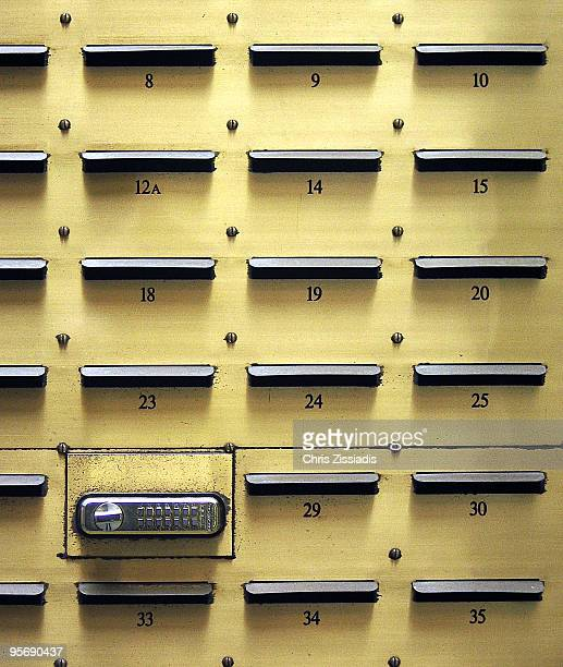 letterboxes and unusual lock