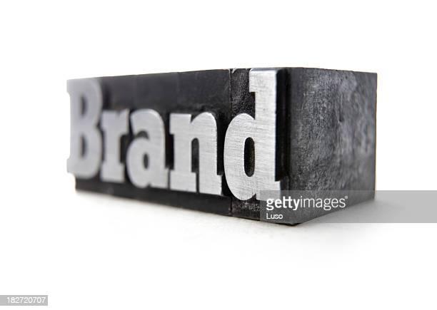 BRAND letterpress (serie of images)