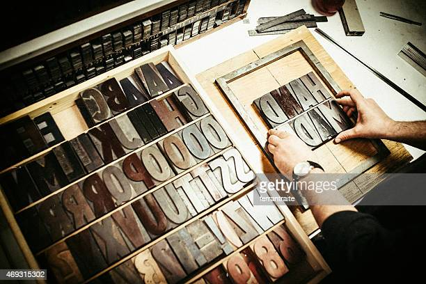 Typographie d'impression