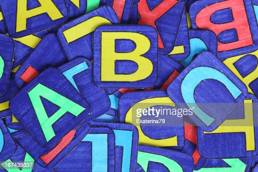 Letters Heap : Stock Photo