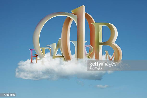 Letters in Cloud