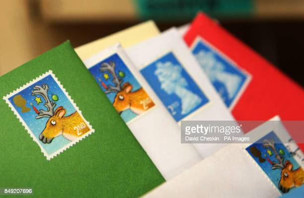Letters to be sorted at Edinburgh's Royal Mail Centre in its busiest week of the festive season PRESS ASSOCIATION PhotoPhoto date Tuesday December 18...