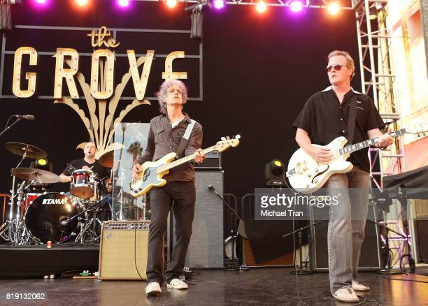 Letters to Cleo perform onstage during the Citi presents The Grove Summer Concert Series held at The Grove on July 19 2017 in Los Angeles California