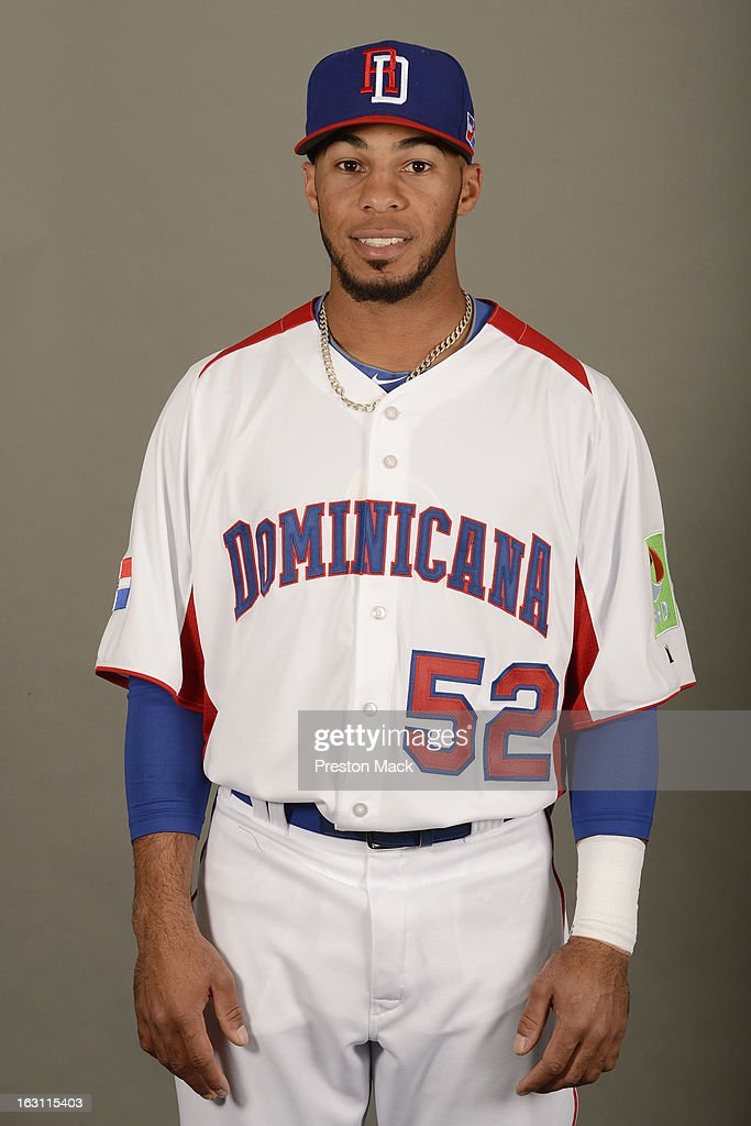 Leury Garcia #52 of Team Dominican Republic poses for a headshot for the 2013 World Baseball Classic on March 4, 2013 at George M. Steinbrenner Field in Tampa, Florida.