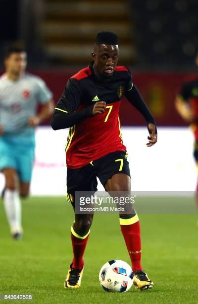 20170905 Leuven Belgium / Uefa U21 Euro 2019 Qualifying Belgium v Turkey / 'nIsaac MBENZA'nPicture by Vincent Van Doornick / Isosport