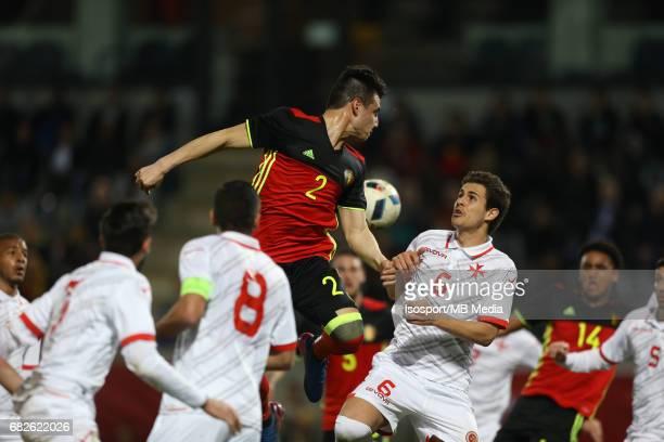 20170327 Leuven Belgium / Uefa U21 Euro 2019 Qualifying Belgium vs Malta / Dion COOLS Matthew GUILLAUMIER Picture by Vincent Van Doornick / Isosport