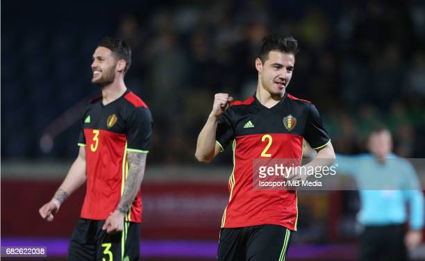 20170327 Leuven Belgium / Uefa U21 Euro 2019 Qualifying Belgium vs Malta / Dion COOLS Vreugde Joie Celebration Picture by Vincent Van Doornick /...