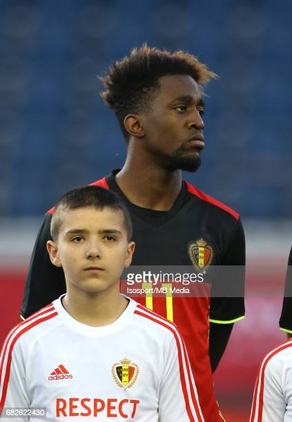 20170327 Leuven Belgium / Uefa U21 Euro 2019 Qualifying Belgium vs Malta / Isaac MBENZA Picture by Vincent Van Doornick / Isosport