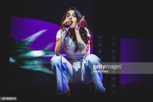 FESTIVAL COLLEGNO TORINO ITALY Levante real name Claudia Lagona is an ItalianIndie singer and songwriter performs live at Flower Festival