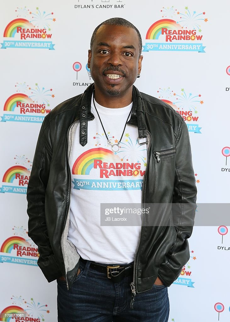 LeVar Burton appears at Dylan's Candy Bar on June 14, 2013 in Los Angeles, California.