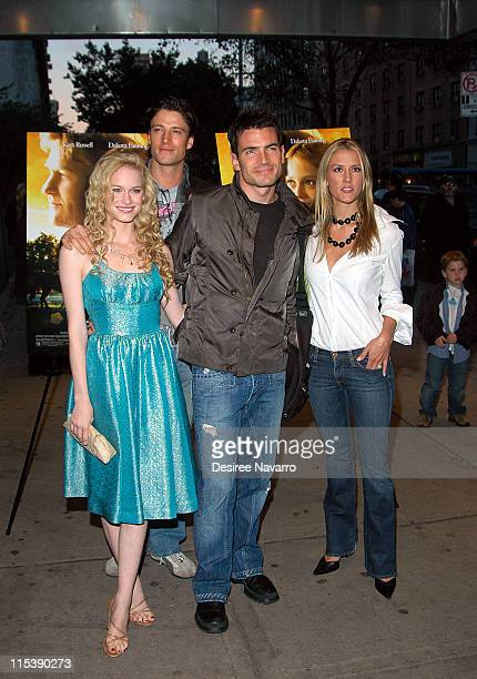 Leven Rambin Aiden Turner and Megan Marshall during DreamWorks' NY 'Dreamer Inspired by a True Story' Fathers and Daughters Screening at Chelsea West...