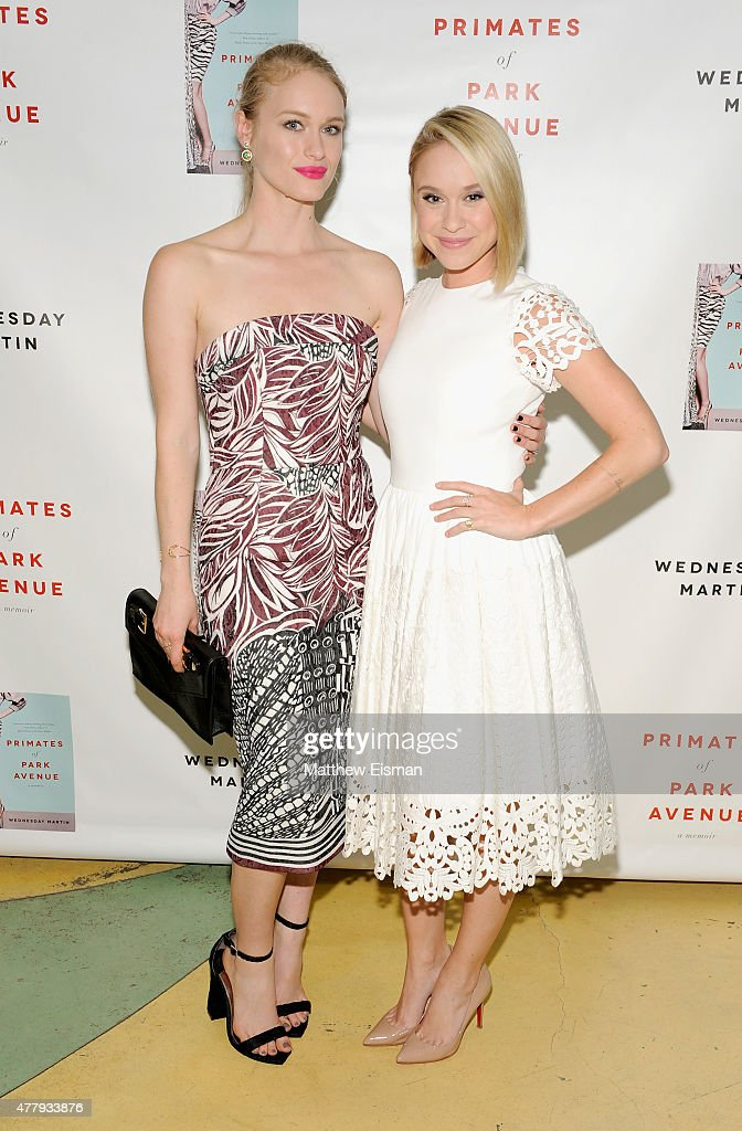Leven Rambin and Becca Tobin attend 'Primates of Park Avenue' by Dr. Wednesday Martin Release Event at the Children's Museum of the East End on June 20, 2015 in New York City.