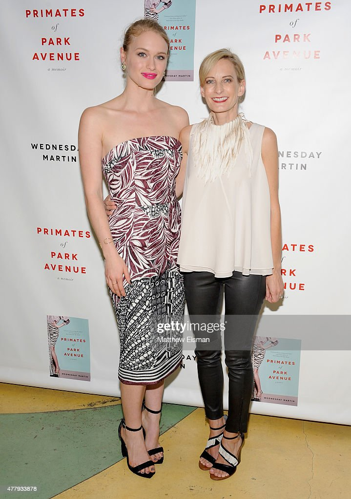 Leven Rambin and Dr. Wednesday Martin attend 'Primates of Park Avenue' by Dr. Wednesday Martin Release Event at the Children's Museum of the East End on June 20, 2015 in New York City.