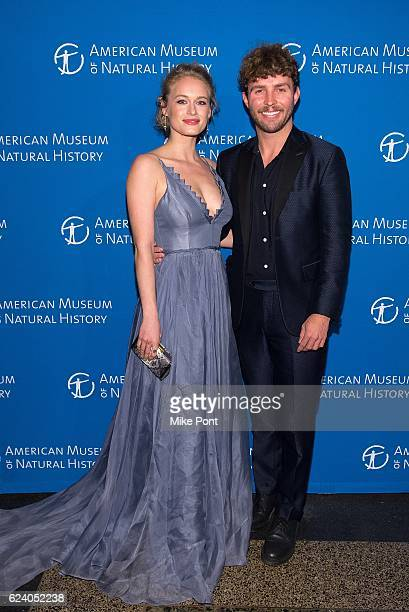 Leven Rambin and Timo Weiland attend the 2016 American Museum Of Natural History Museum Gala at American Museum of Natural History on November 17...