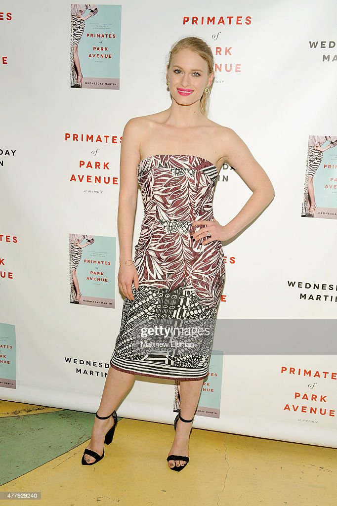 Leven Rambin attends 'Primates of Park Avenue' by Dr. Wednesday Martin Release Event at the Children's Museum of the East End on June 20, 2015 in New York City.