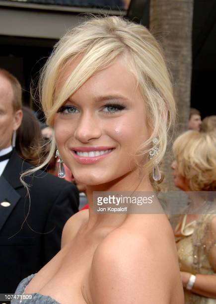 Leven Rambin during 33rd Annual Daytime Emmy Awards Arrivals at Kodak Theater in Hollywood California United States