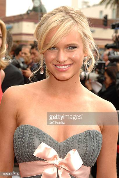 Leven Rambin during 33rd Annual Daytime Emmy Awards Red Carpet at Kodak Theater in Hollywood California United States