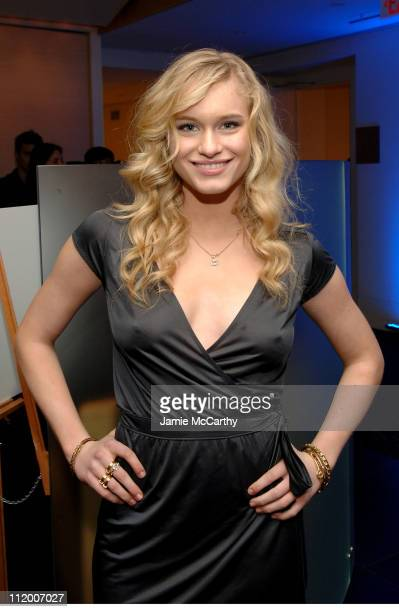 Leven Rambin during British Airways and Gen Art Launch British Airways Club World at The Time and Life Building in New York City New York United...