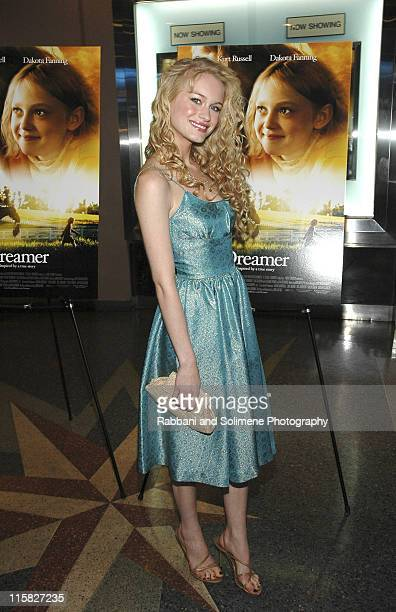 Leven Rambin during 'Dreamer Inspired by a True Story' New York Premiere City Arrivals at Chelsea West Theatre in New York City New York United States