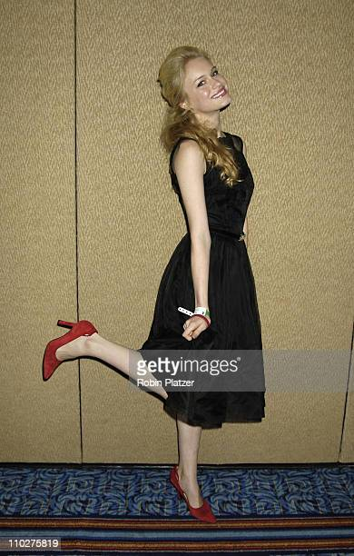 Leven Rambin of All My Children during The 11th Annual Daytime Television Salutes St Jude Childrens Research Hospital Benefit Inside at The New York...