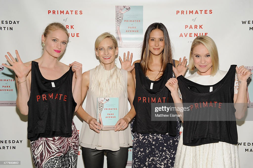 Leven Rambin, Wednesday Martin, Ericka Hunter and Becca Tobin attend 'Primates of Park Avenue' by Dr. Wednesday Martin Release Event at the Children's Museum of the East End on June 20, 2015 in New York City.