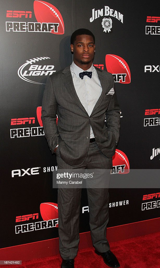 Le'Veon Bell attends the ESPN The Magazine 10th annual Pre-Draft Party at The IAC Building on April 24, 2013 in New York City.