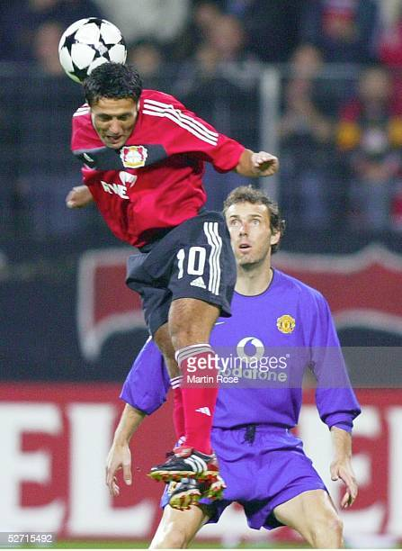LEAGUE 02/03 Leverkusen BAYER 04 LEVERKUSEN MANCHESTER UNITED Yildiray BASTUERK/BAYER