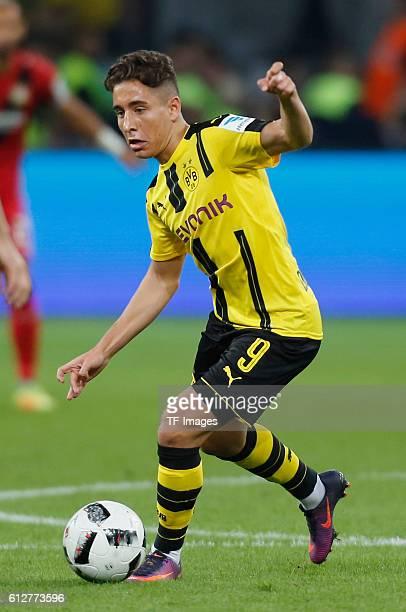 Leverkusen Germany 1 Bundesliga 6 Spieltag Bayer 04 Leverkusen Borussia Dortmund Emre Mor am Ball