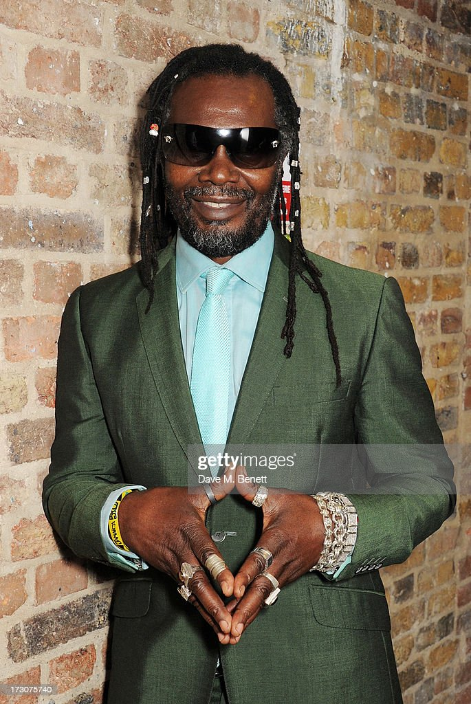Levi Roots attends vInspired Live, a youth social change event, at The Roundhouse on July 6, 2013 in London, England.
