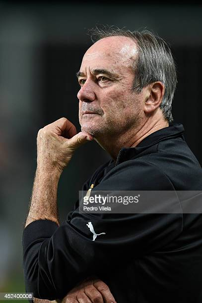 Levir Culpi coach of Atletico MG a match between Atletico MG and Bahia as part of Brasileirao Series A 2014 at Independencia stadium on July 19 2014...