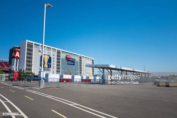 Levi's Stadium home to the San Francisco 49ers football team in the Silicon Valley town of Santa Clara California July 25 2017