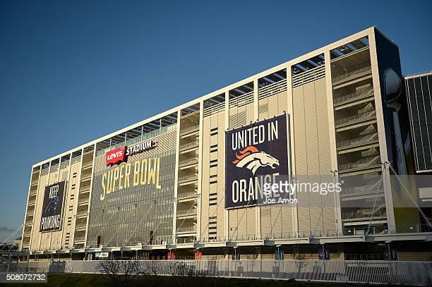 Levi's Stadium in Santa Clara CA February 02 2016