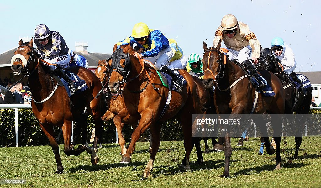 Levitate (C) ridden by Darren Egan wins the William Hill Lincoln (Heritage Handicap) (Class2) race at Doncaster Racecourse on March 30, 2013 in Doncaster, England.
