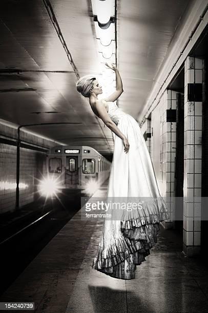 Levitating la mariée