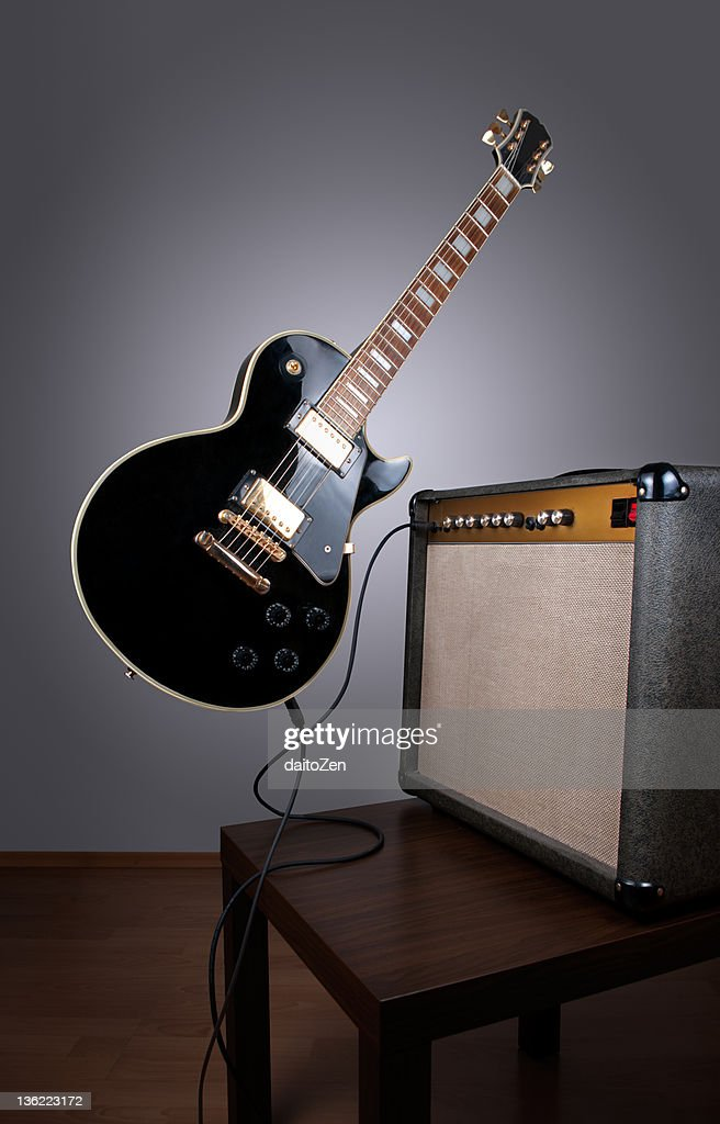 Levitating electric guitar