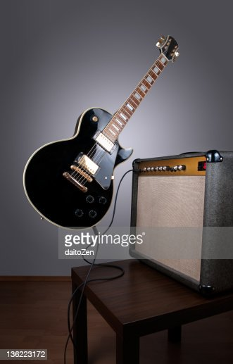 Levitating electric guitar