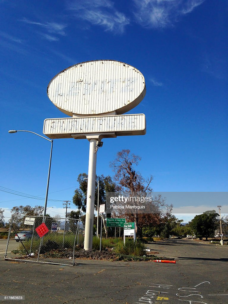 Levitz Furniture Store Sign Near Highway 101 In Oxnard California The Store  Closed In 2005 And
