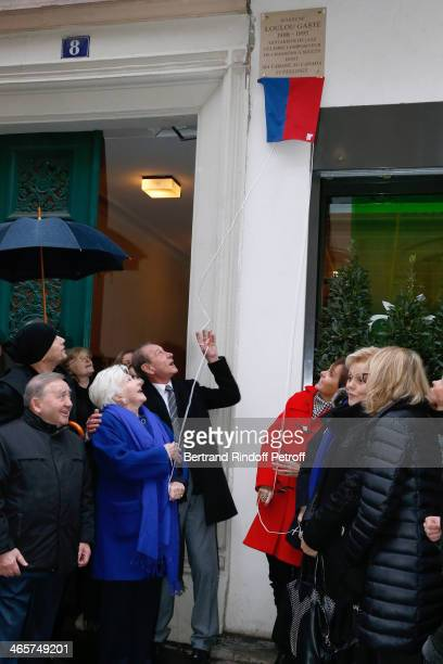 Levon Sayan singer Pascal Obispo singer Line Renaud Mayor of Paris Bertrand Delanoe Mayor of 17th district of Paris Brigitte Kuster humorist Muriel...