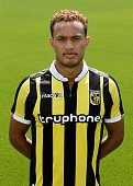 Lewis Baker during the team presentation of Vitesse Arnhem on July 6 2015 at the Papendal training complex in Arnhem The Netherlands