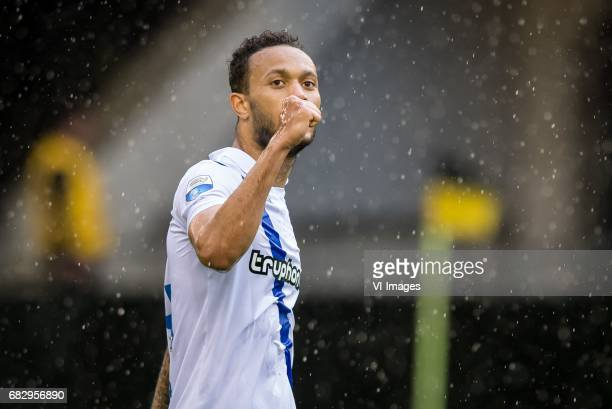 Lewis Baker of Vitesse 30during the Dutch Eredivisie match between Vitesse Arnhem and Roda JC Kerkrade at Gelredome on May 14 2017 in Arnhem The...