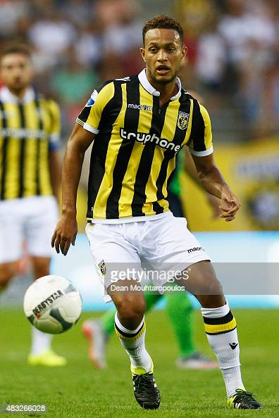 Lewis Baker of Vitesse in action during the UEFA Europa League third qualifying Round 2nd Leg match between Vitesse Arnhem and Southampton FC held at...