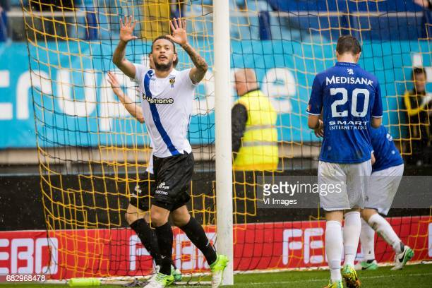 Lewis Baker of Vitesseduring the Dutch Eredivisie match between Vitesse Arnhem and Roda JC Kerkrade at Gelredome on May 14 2017 in Arnhem The...
