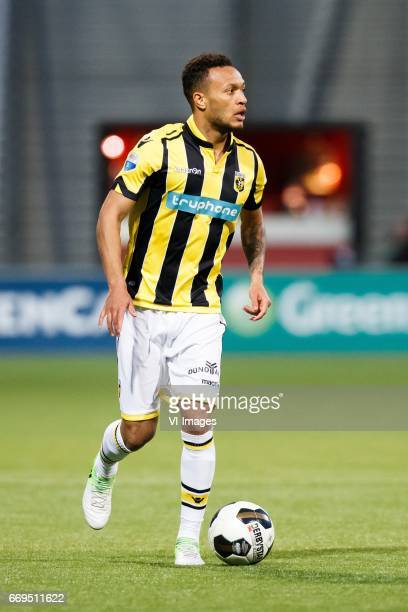 Lewis Baker of Vitesseduring the Dutch Eredivisie match between sbv Excelsior Rotterdam and Vitesse Arnhem at Woudenstein stadium on April 15 2017 in...