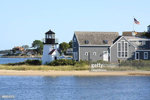 Lewis Bay Lighthouse, Hyannis, Cape Cod, Massachusetts, New England.