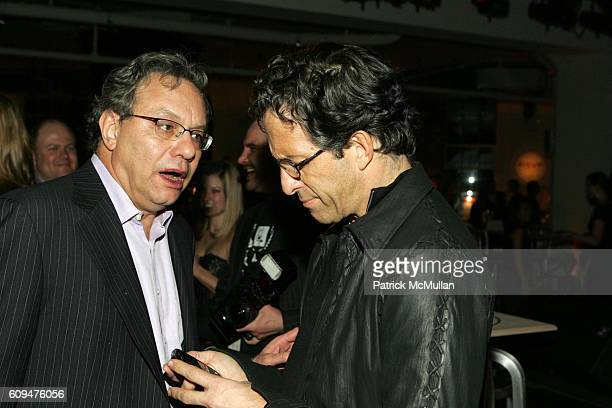 Lewis Black and Kenneth Cole attend Jon Bon Jovi and Kenneth Cole Team Up For An Unforgettable Night of Fundraising At 'RSVP To Help' at Tribeca...
